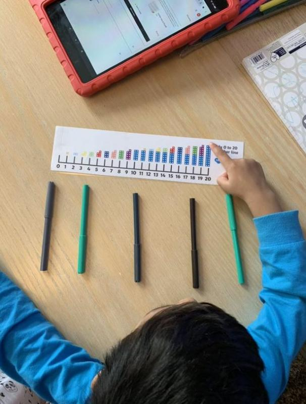 Counting with Numicons