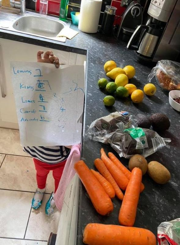 Counting Vegetables